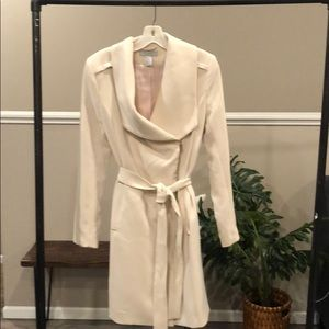 H&M ivory trench
